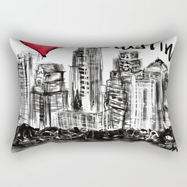 I love Austin Rectangular Pillow