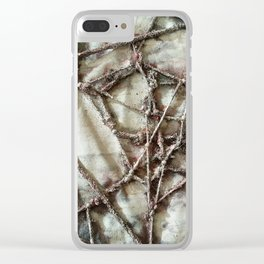 Woven Threads . Dream Catcher Clear iPhone Case