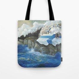 On The Other Side Of Wastelands - Oceanside Tote Bag