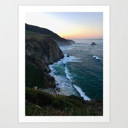 Big Sur Sunrise Art Print
