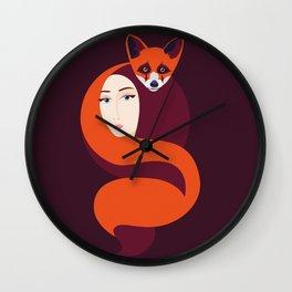 Magic Fox Wall Clock