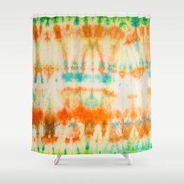 rainbow sun Shower Curtain