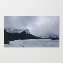 Cold Beauty 7 Canvas Print