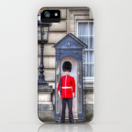Buckingham Palace Queens Guard iPhone Case