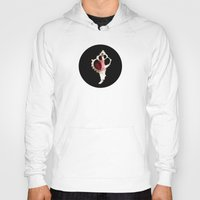 seashell Hoodies featuring Seashell Ventricle by Loaded Light Photography