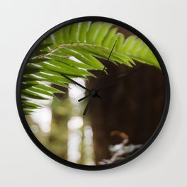 Under the Redwoods Wall Clock