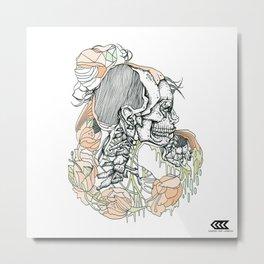 H (er) Metal Print