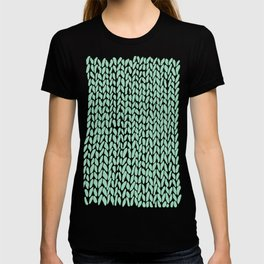 Hand Knit Mint T-shirt