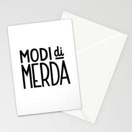 Modi di merda Stationery Cards