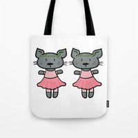 ballet Tote Bags featuring Ballet by Emily Elizabeth Reichmann