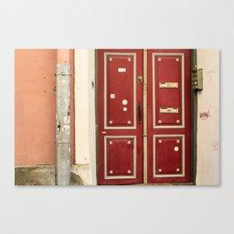 A Door in Tallinn Canvas Print