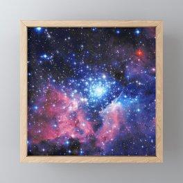 Extreme Star Cluster Framed Mini Art Print