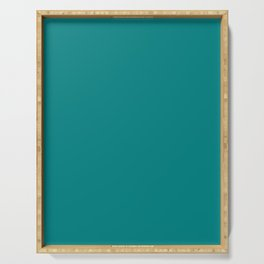 Dark Cyan Serving Tray