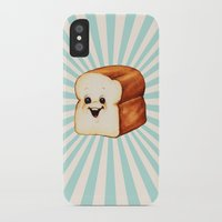 bread iPhone & iPod Cases featuring Bread by Kelly Gilleran