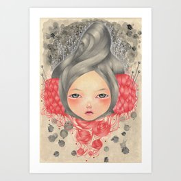 Tangled Skein Art Print