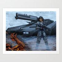Quorra's Tank Art Print