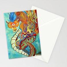 Mushroom Dragon Stationery Cards
