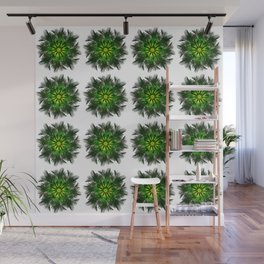 The Majesty Palm Light Flower (Pattern) Wall Mural