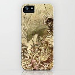 El anillo de Nibelungo iPhone Case