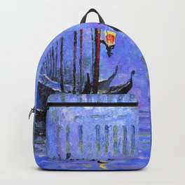 Lilac Night Backpack