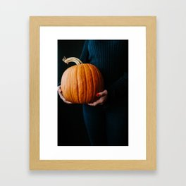pumpkin love Framed Art Print