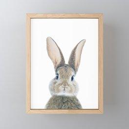 Bunny Rabbit Framed Mini Art Print
