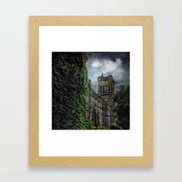 Ivy Walls at University of Toronto Framed Art Print