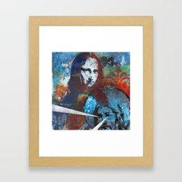 Searching for Mona Framed Art Print