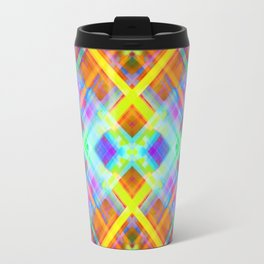 Colorful digital art splashing G71 Travel Mug