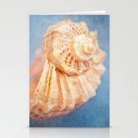 seashell Stationery Cards featuring Seashell by The Last Sparrow