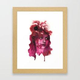Blood Lady #1 Framed Art Print