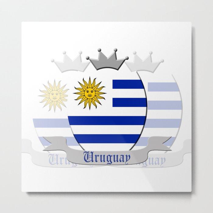 Uruguay Metal Print