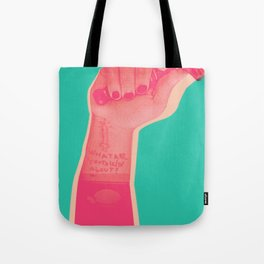 whatareyou talkinabout? Tote Bag