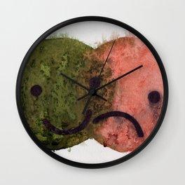 Happy/ Sad Venn Diagram  Wall Clock