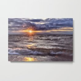 The Wonder of a Sunset Metal Print