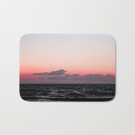 Ocean #sunset Bath Mat