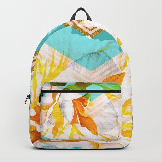 Flourishing between geometric Backpack
