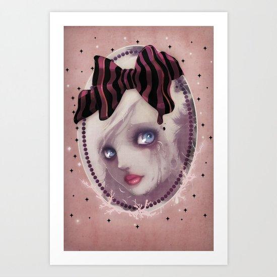 Mascara(de) Art Print