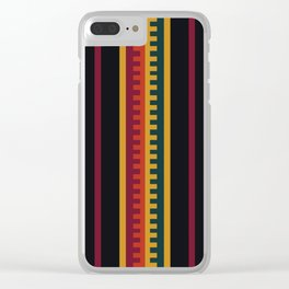 Royal Inca Clear iPhone Case