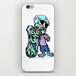 Zombie Dill iPhone Skin