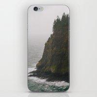 oregon iPhone & iPod Skins featuring Oregon Coast: III // Oregon by Corrie Mick
