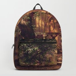 Sunlight And Shadow 1862 By Albert Bierstadt | Reproduction Painting Backpack