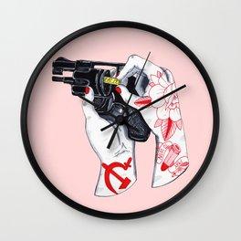 Eat It Wall Clock