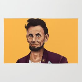 Hipstory -  Abraham Lincoln Rug
