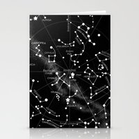 constellations Stationery Cards featuring Constellations  by Terry Fan