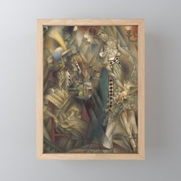 Jean Metzinger, Dancer in a café Framed Mini Art Print