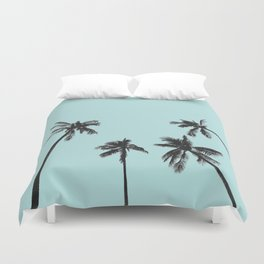 Palm trees 5 Duvet Cover