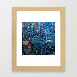 Magic at Midnight Framed Art Print