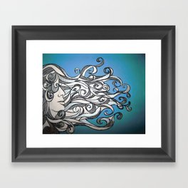 Whirl Wind  Framed Art Print