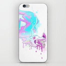 Candy Glitch iPhone Skin
